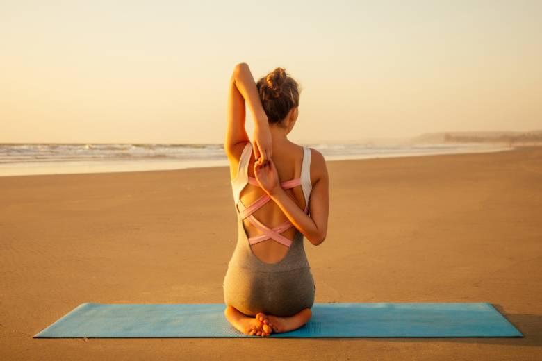 Yin Yoga i solen