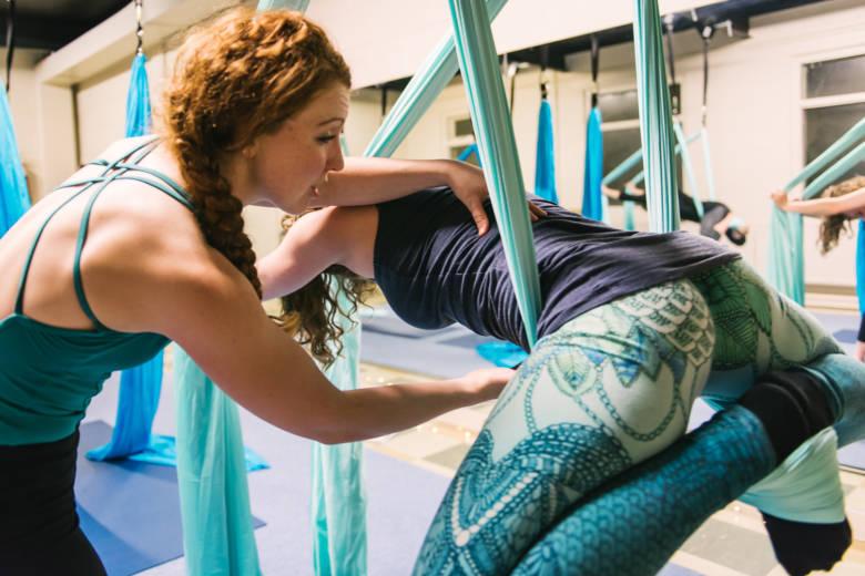 Soft Aerial Yoga – workshop